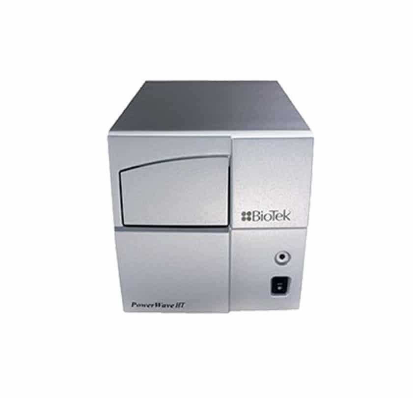 mikroplaka spektrofotometresi biotek powerwave ht