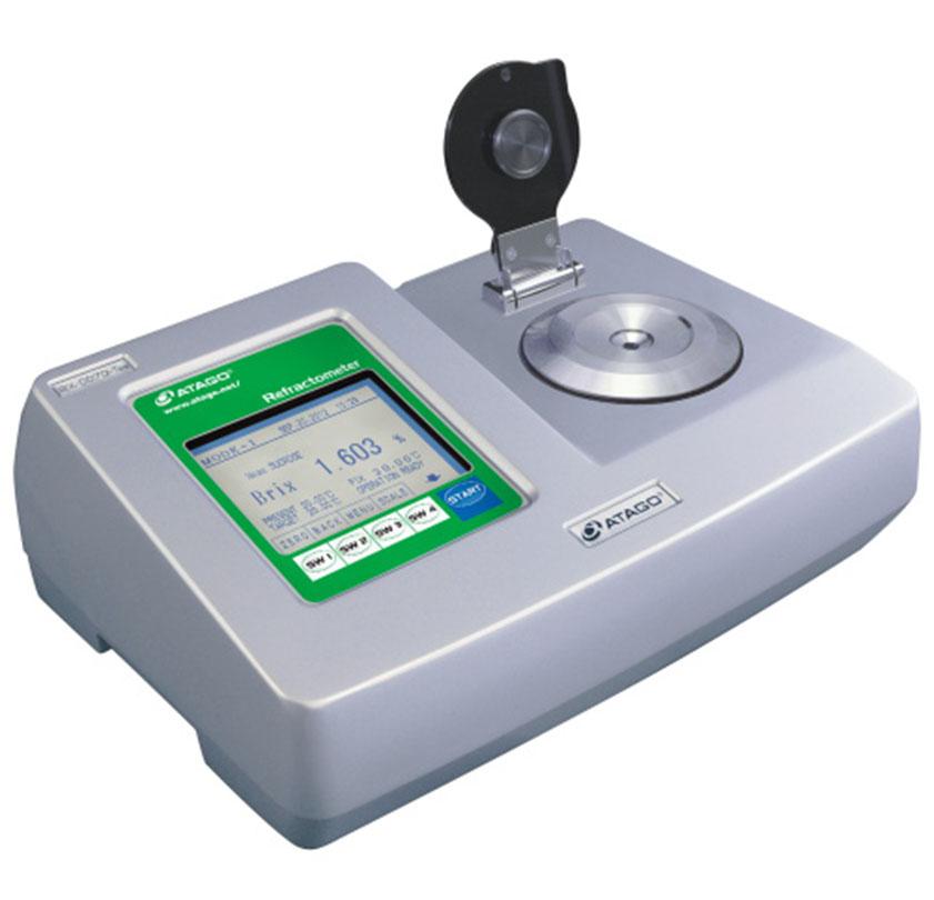 otomatik dijital refraktometre rx dd7α tea