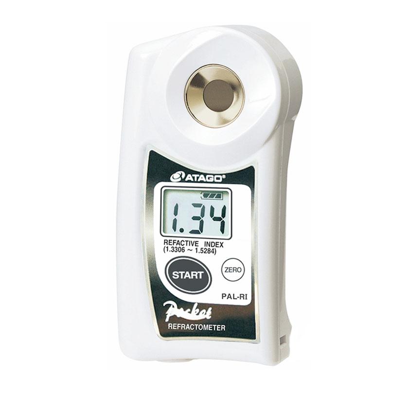 reaktif indeks ve brix refraktometresi dijital el tipi atago pal bxri 1