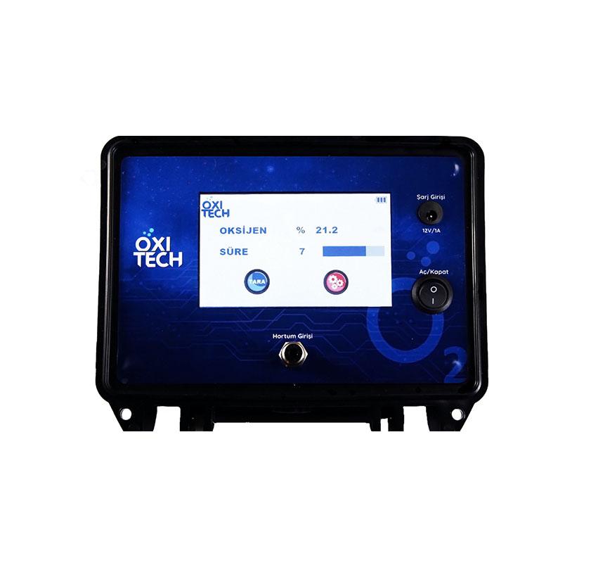 modifiye atmosfer paketlerde map kalite kontrol i̇çin taşinabilir gaz analiz cihazi oxitech o2 co2